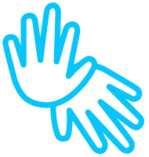 Icone azul aqui